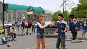 シミュレーションゲーム シムズ3 ゲーム内画像